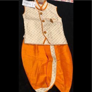Kids ethnic wear , Dhoti -coat set